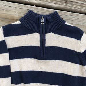 1989 Place Shirts & Tops - Blue and White Striped Pullover